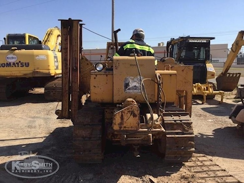 Front of Used Deere Dozer Pipelayer for Sale