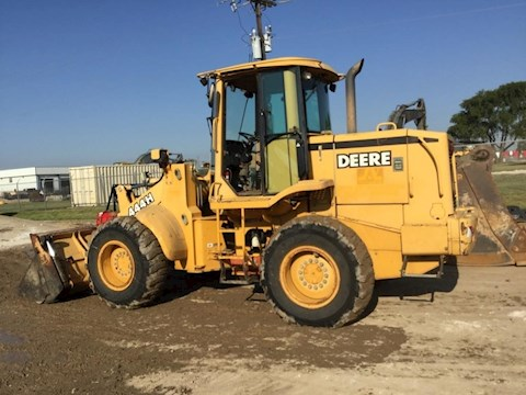 Side of Used Deere Wheel Loader for Sale