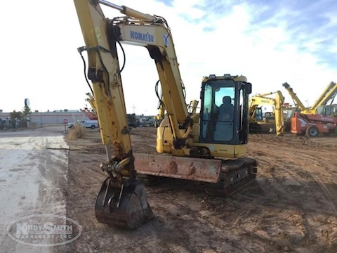 Used Komatsu Crawler Excavator under sky for Sale