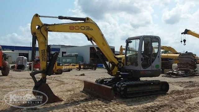 Side of Used Wacker Neuson Crawler Excavator for Sale