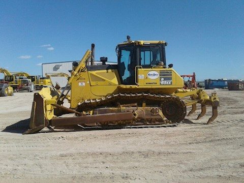 Side of Used Komatsu Bulldozer for Sale