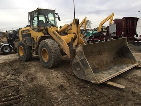 Used Komatsu Wheel Loader for Sale