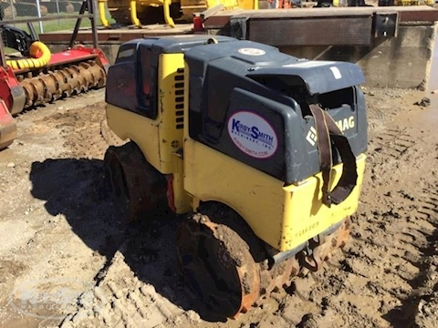 Used Bomag Compactor for Sale in Yard