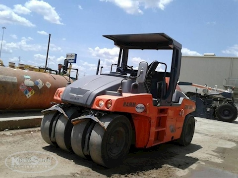 Used Hamm Compactor for Sale under Blue Sky