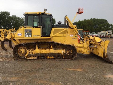 Side of Used Komatsu Dozer for Sale