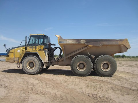 Side of Used Komatsu Truck for Sale