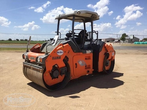 Used Hamm Compactor under blue sky for Sale