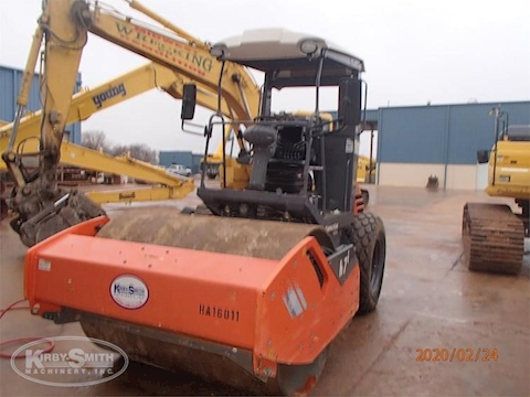 Used Hamm Smooth Drum Compactor for Sale