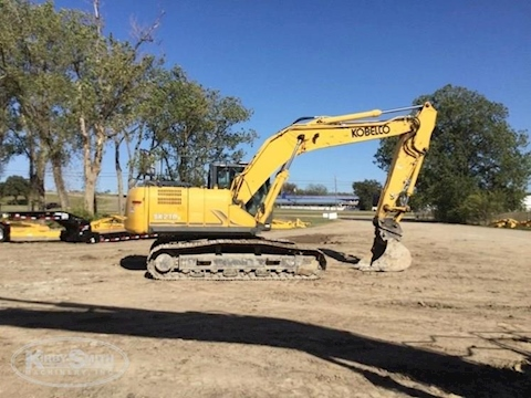 Used Kobelco Crawler Excavator for Sale