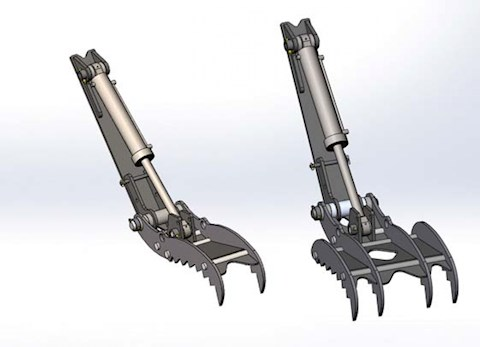 New CP-Paladin Weld-On Hydraulic Thumb for Sale