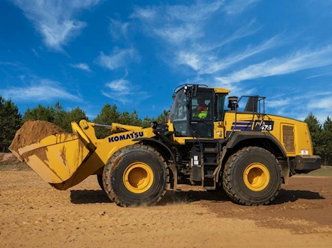 New Komatsu Loader under blue Sky for Sale