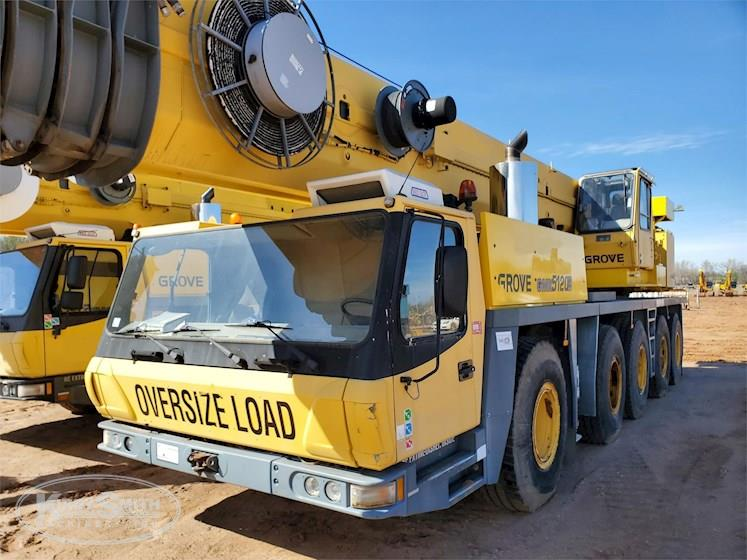 Used All Terrain Crane for Sale