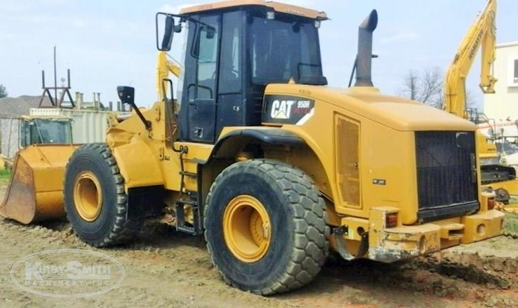 Side of Used Caterpillar Loader