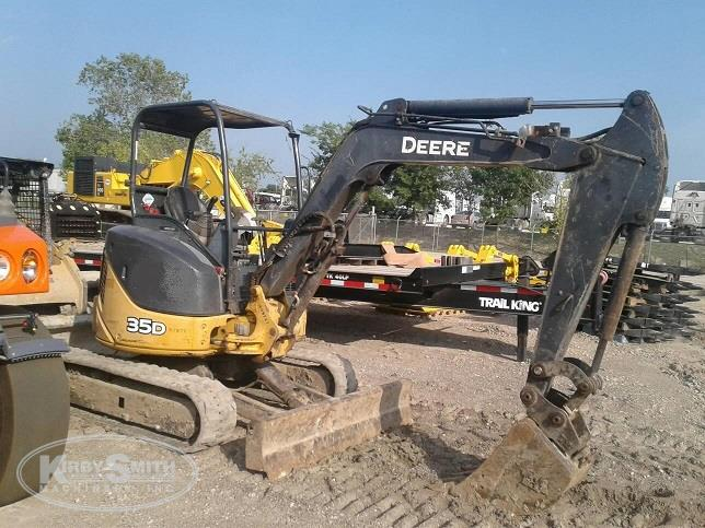 Used John Deere Excavator for Sale