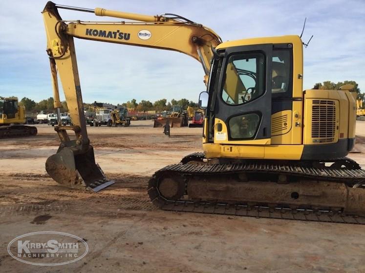 2011 Komatsu PC138USLC-8 Crawler Excavator for Sale
