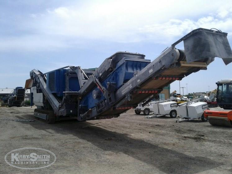 Used Mobile Impact Crusher