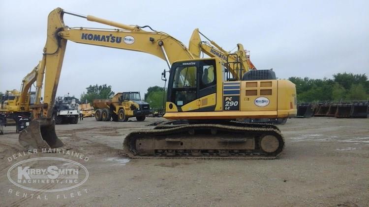 2012 Komatsu PC290LC-10 Excavator for Sale
