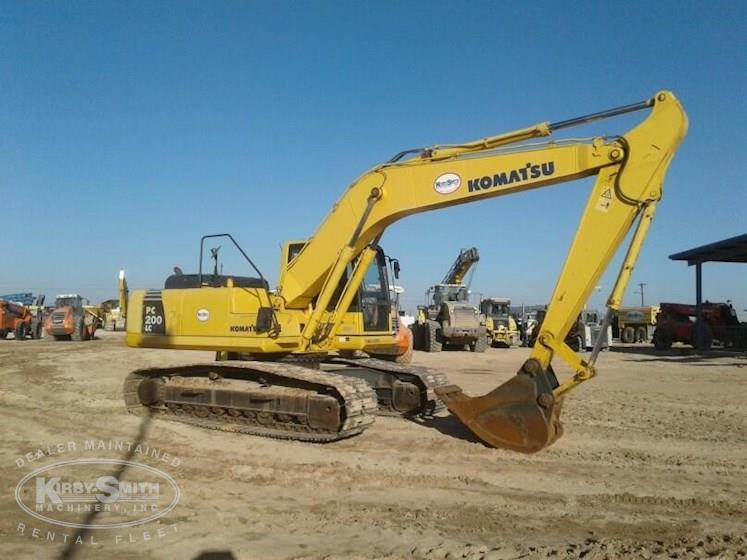2012 Komatsu PC200LC-8 Excavator for Sale