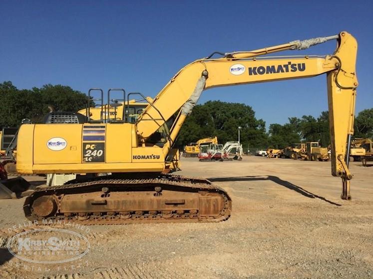 2012 Komatsu Pc240lc 10 Crawler Excavator For Sale