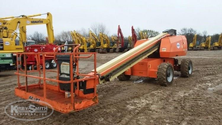 Front Side of Used JLG in Yard for Sale
