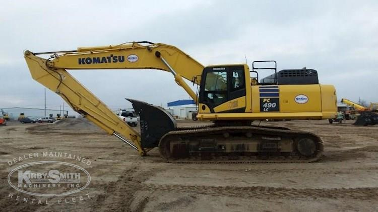 Side of Used Crawler Excavator for Sale