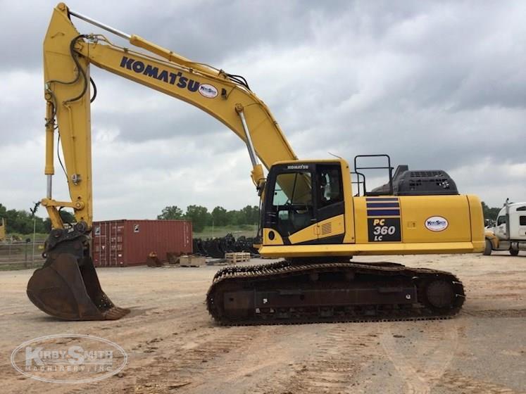 2017 Komatsu Pc360lc 11 Crawler Excavator For Sale