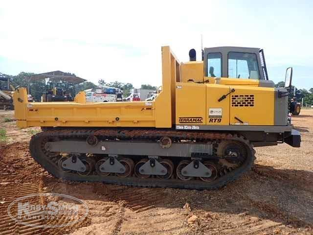 Side of Used Terramac Crawler Carrier in Yard for Sale