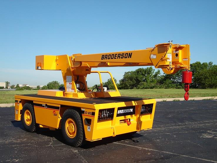 New Broderson IC-80-3J Crane for Sale | Kirby-Smith