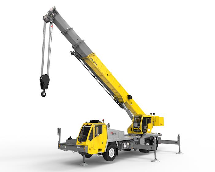 New Grove Truck Mounted Crane for Sale