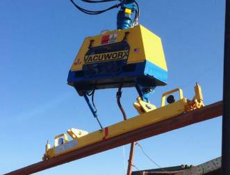 Vacuworx HDD Pipe Handling System