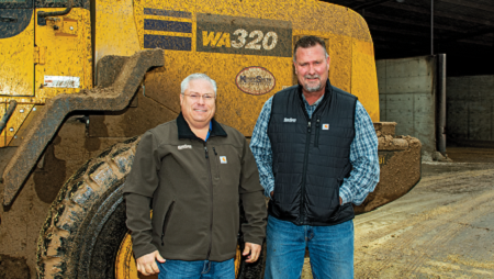 Cnossen Dairy moves onward with different machines to increase productivity.