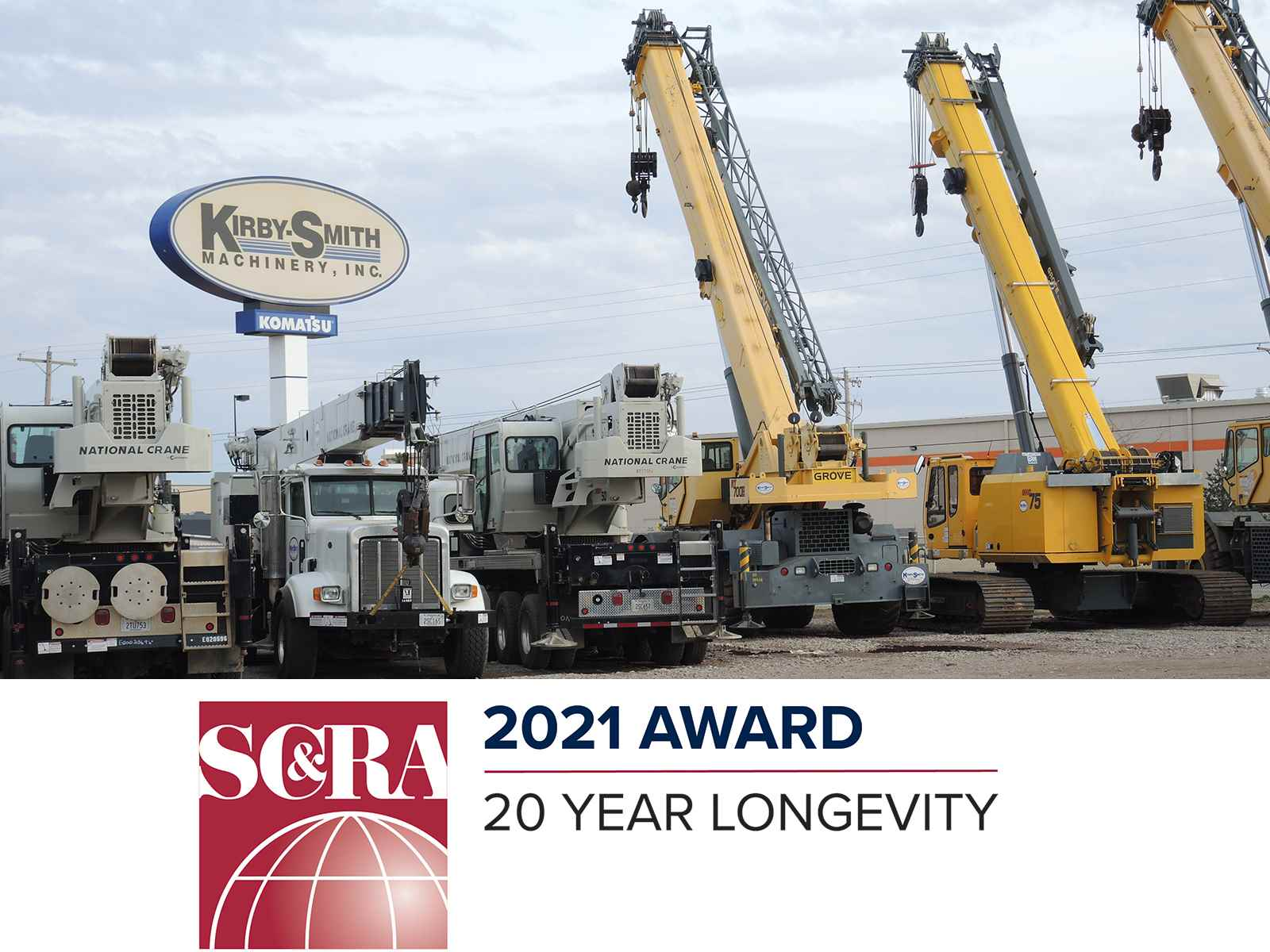 Leading Crane Distributor Kirby-Smith honored by SC&RA