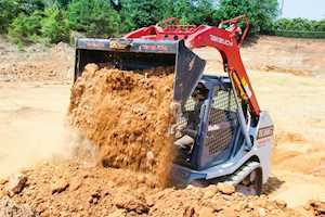 Takeuchi TL8R2 Track Loader is versatile performance machine