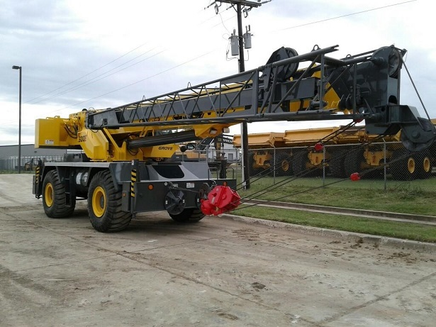 Front Boom of Used Grove Rough Terrain Crane