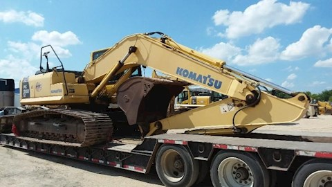 Front of Used Komatsu Excavator for Sale