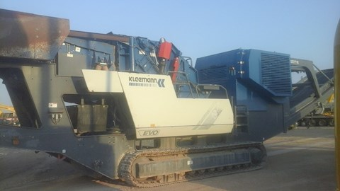 Used Kleemann Crusher for Sale