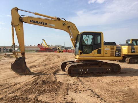 Side Used Excavator for Sale