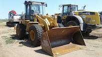 Used Caterpillar Loader Side Front View