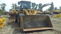 Used Caterpillar Loader with Bucket