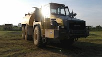 Used Articulated Dump Truck for Sale under setting sun