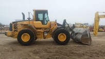 Side of Used Volvo Loader for Sale