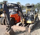 Used Excavator in yard for Sale