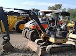 Side of John Deere Used Excavator for Sale