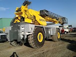 Used Grove Rough Terrain Crane at rest