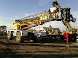 Boom of Used Grove Rough Terrain Crane