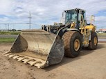 Used Deere Loader in yard ready for Sale