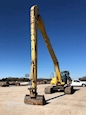 Front of Used Excavator under Blue Sky for Sale