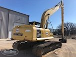 Back of Used Komatsu Excavator in Yard for Sale