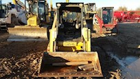 Front of Used Track Skid Steer for Sale