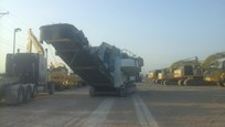 Used Kleemann Crusher for Sale in yard